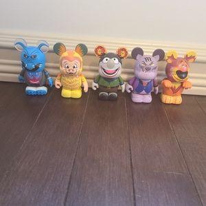 Lot of 5 Disney Vinylmations